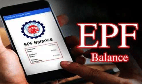 EPF balance check on mobile number